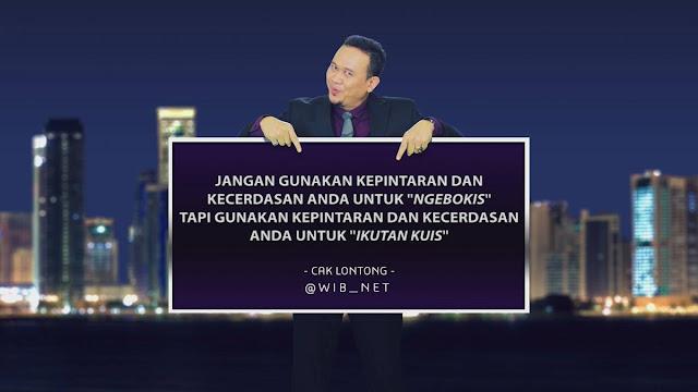 Kunci Jawaban WIB TTS Cak Lontong Net TV