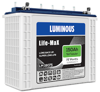 Luminous Launches its Highest warranty Battery