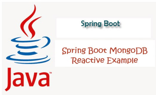 Spring boot Spring data Mongodb reactive crud example