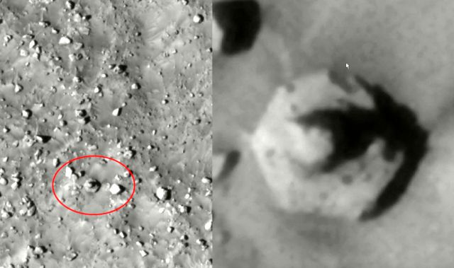 Hexagon Structure spotted in Pyramus Fossae on Mars  Hexagon%2Bstructure%2BMars