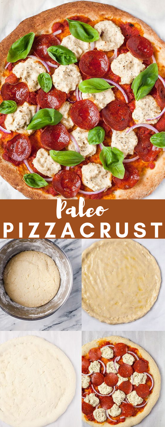 Authentic Paleo Pizza #pizza #healthy