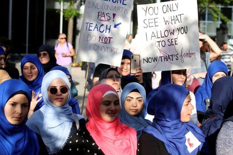 Aturan Pengadilan Tertinggi Uni Eropa, Jilbab Dapat Dilarang di Tempat Kerja