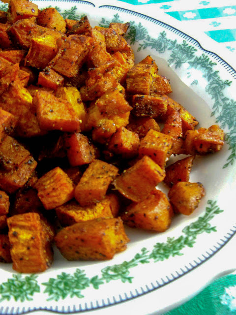 Perfect Roasted Sweet Potatoes with Smoked Paprika