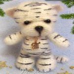 patron gratis tigre amigurumi, free amiguru pattern tiger