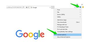 Internet Explorer settings