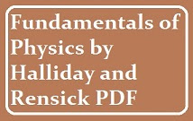 Fundamental Of Physics Halliday Pdf