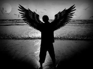 Ange noir et blanc Kerouac bande de clochards superbes Le Marginal Magnifique poeme