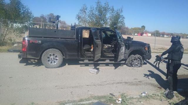 Así quedaron los policías emboscados por Sicarios de la Familia Michoacana en el Estado de México