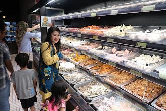 Banyaknya Pilihan makanan segar di Pak John Steambot & BBQ  IOI City Mall