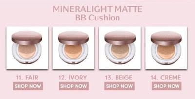 Wardah Instaperfect Mineralight Matte BB Cushion