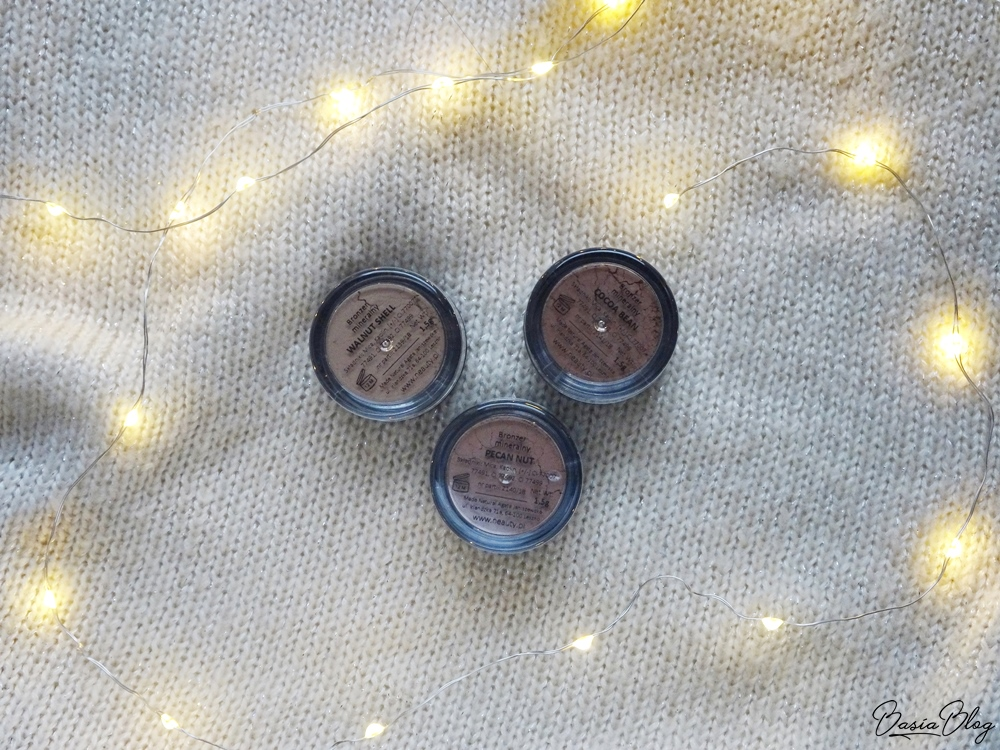 bronzery mineralne Neauty Minerals Walnut Shell, Pecan Nut, Cocoa Bean