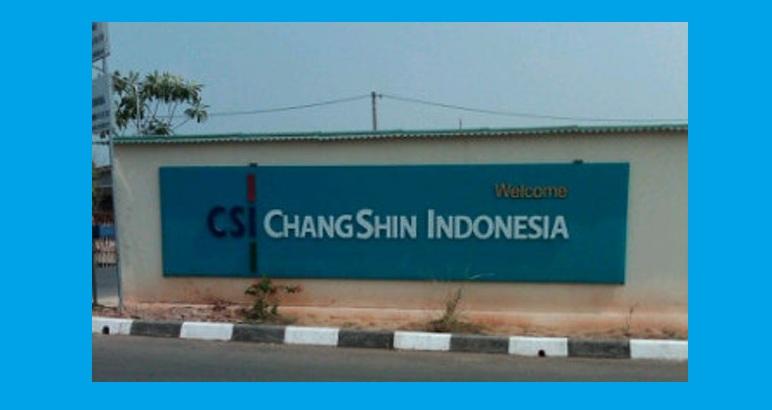 Lowongan Kerja PT Chang Shin Indonesia Karawang Posisi Operator Produksi 2018