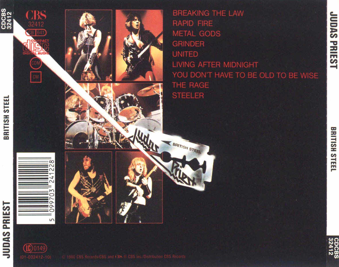 British Steel: Albums Where They Changed The Song Order On Later Re