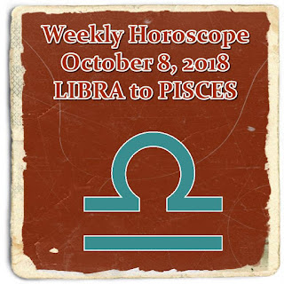 weekly horoscope october 8 libra, scorpio, sagittarius, capricorn, aquarius, pisces