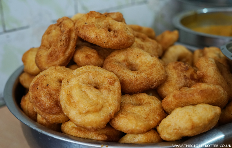 Vada - Vegetarian snack from South India