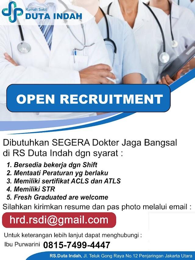 Loker Dokter RS Duta Indah Jakarta Utara