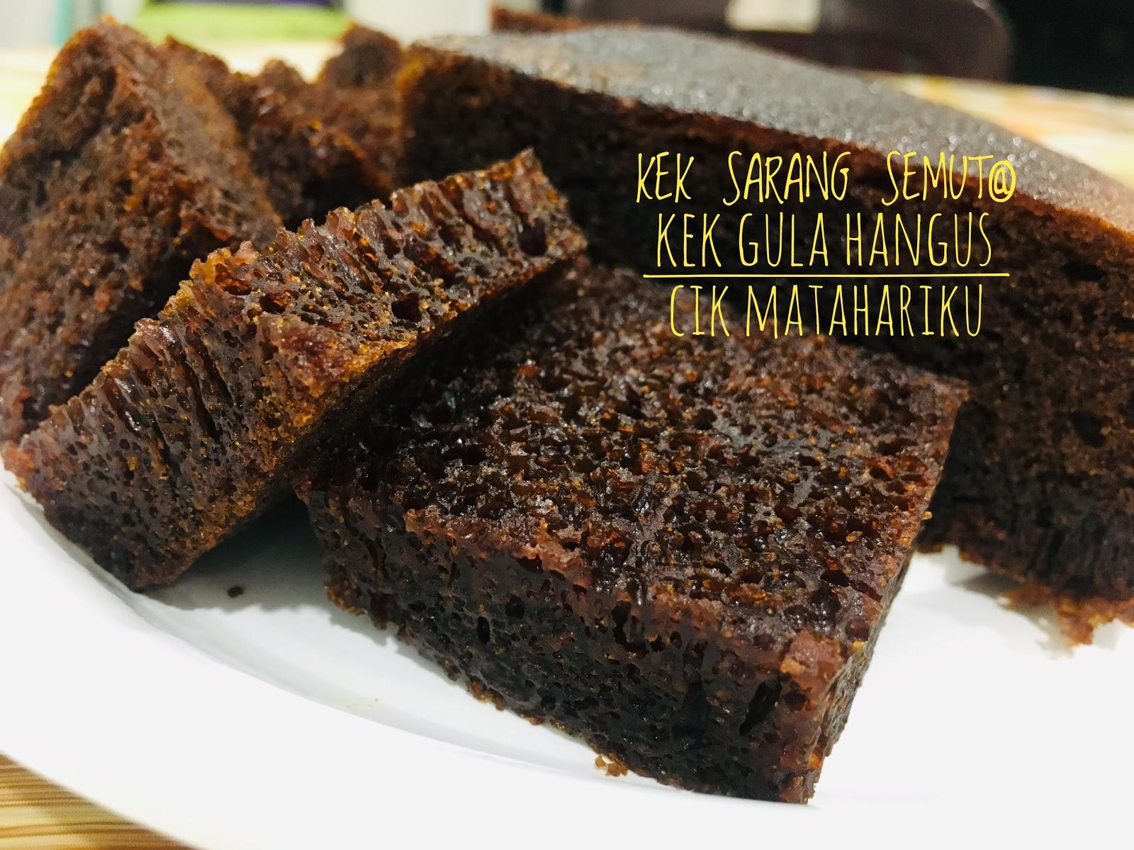 Hidangan Resepi kek gula hangus sukatan cawan bakar - Foody Bloggers
