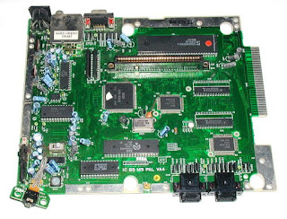 megadrive placa base IC BD M5 PAL VA4