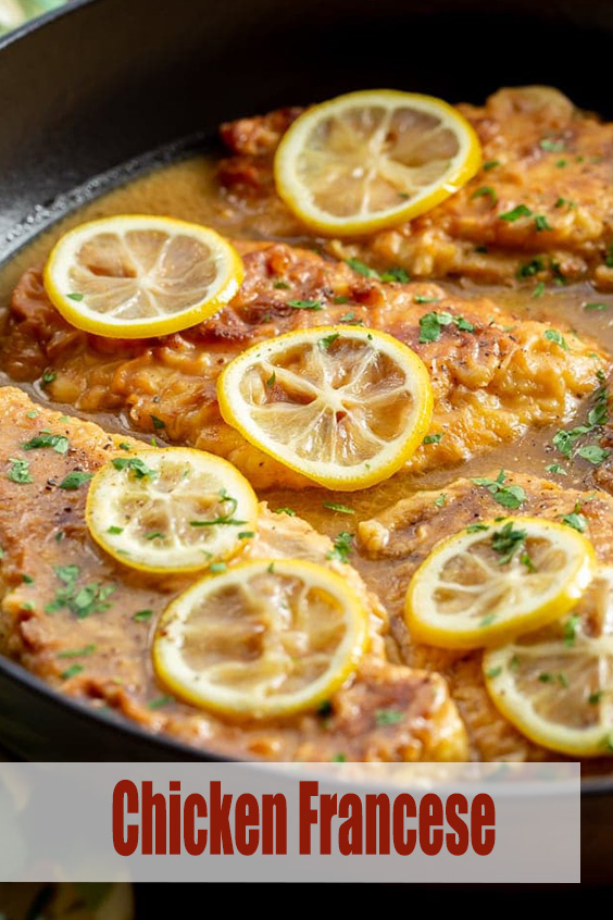 Easy Chicken Francese Recipe