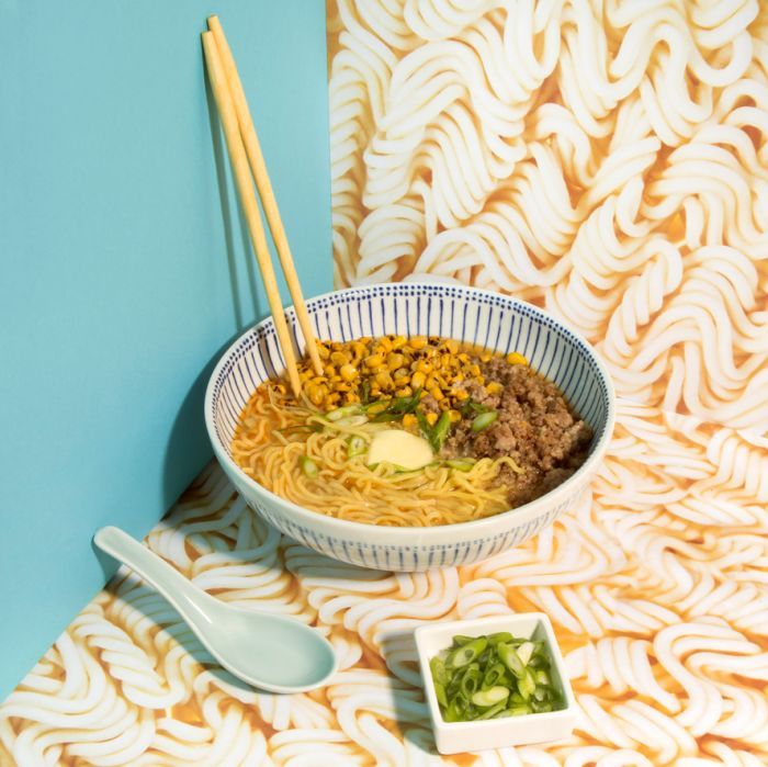 Miso Butter Ramen With Corn and Pork