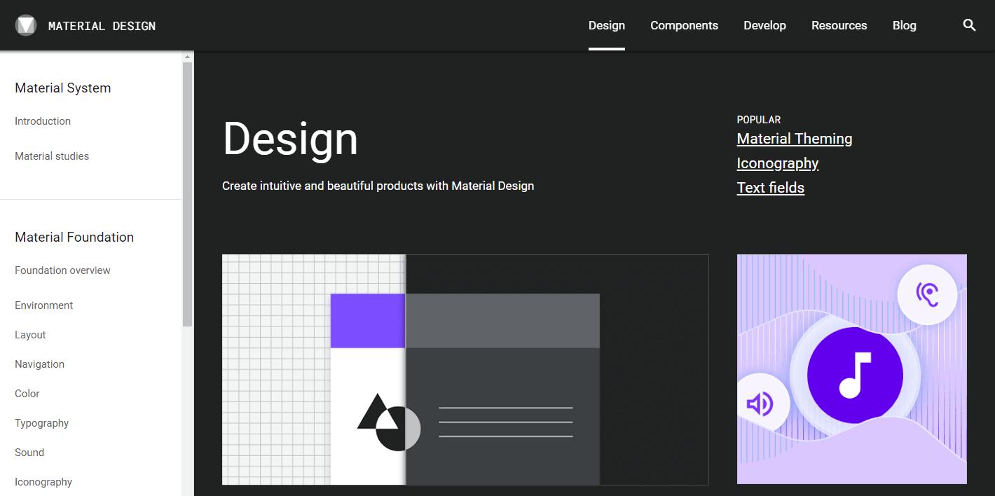 تعلم برمجة تطبيقات الأندرويد - Design-Material-Design