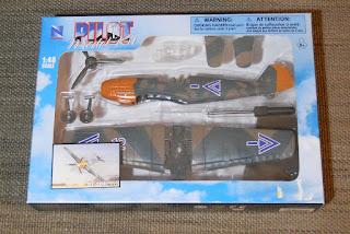 Messerschmitt BF-109 marca Pilot a escala 1:48