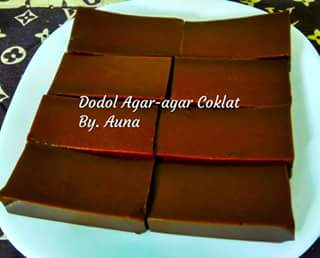 resep dodol coklat simple