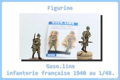 Figurine de l'Infanterie Française 1940