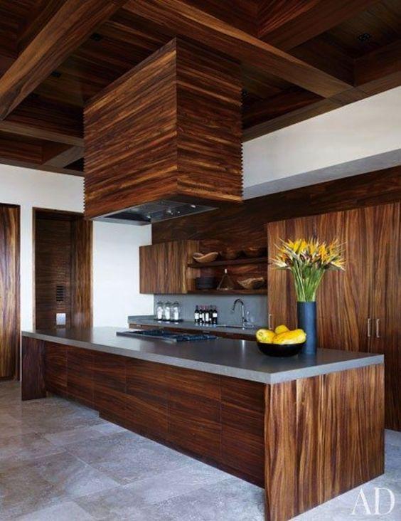 George Clooney's kitchen