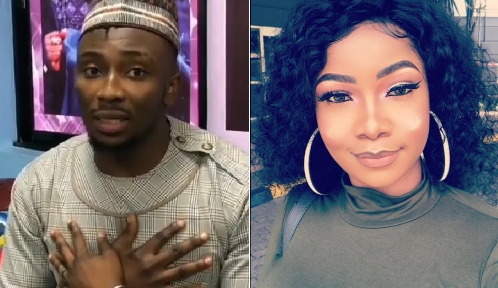 Image result for Tacha's Boyfriend Reacts As Sir Dee Says Meeting Her Is Fire