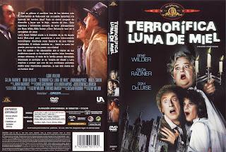 Carátula dvd: Terrorífica luna de miel
