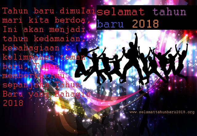 Selamat Tahun Baru 2018 Gambar