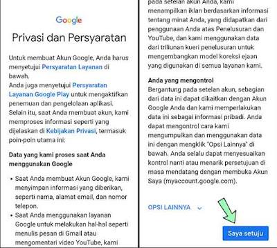 Cara membuat gmail tanpa verifikasi nomor hp menggunakan android