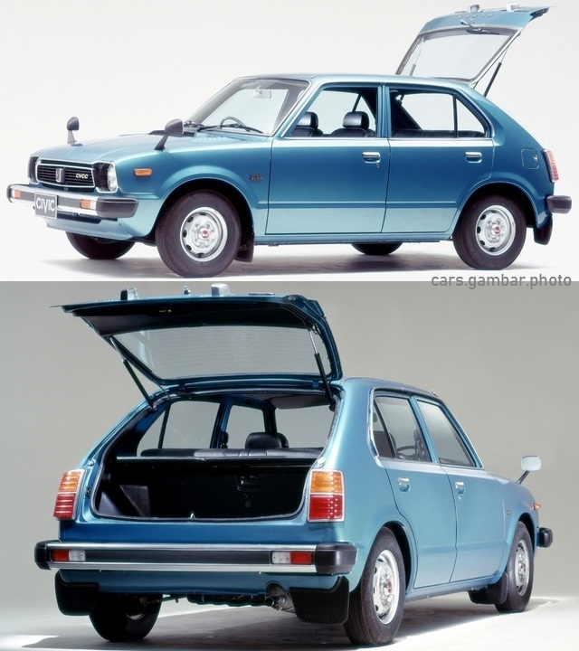 1977 Honda Civic 1st Gen 5-door Hatchback