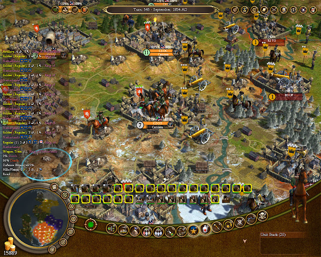 Independence War | Civilization 4 Colonization Screenshot