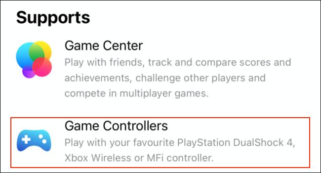 تم إدراج دعم وحدة التحكم في الألعاب لألعاب Apple Arcade في App Store