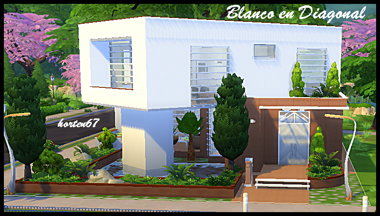 Mis casas y mas con los Sims 4 - Página 18 Blancodiagonal