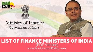Ministry Of India Pdf