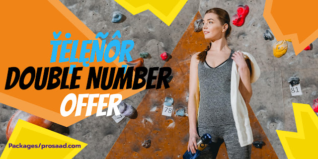Telenor Double Number Offer Code