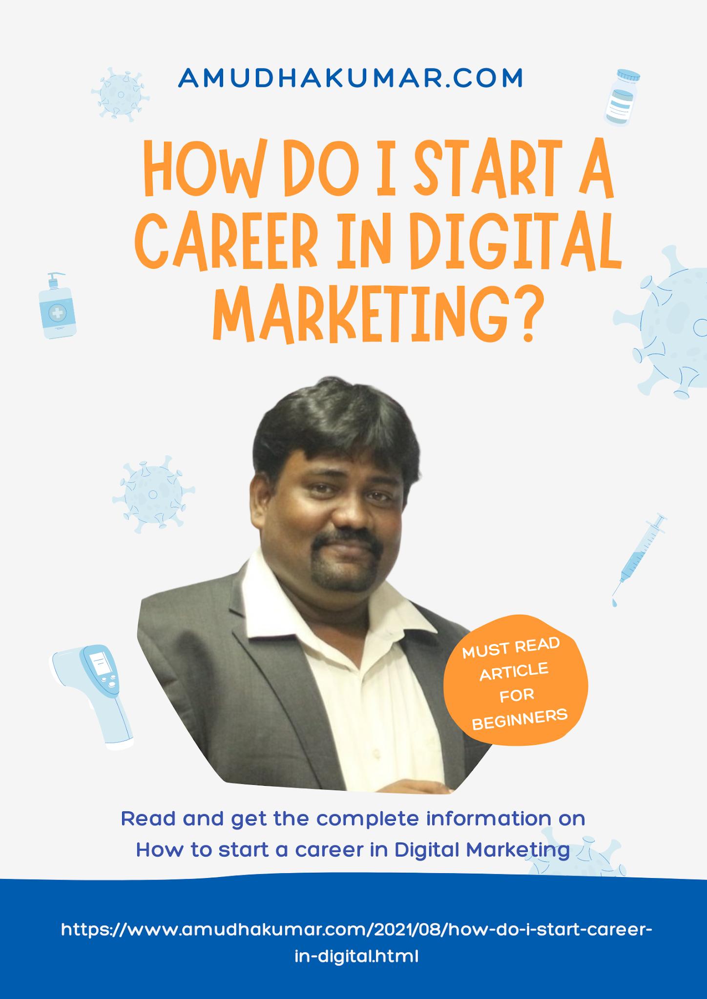 How Do I Start a Career in Digital Marketing?