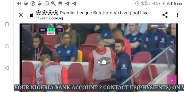 ⚽⚽⚽⚽ Premier League Brentford Vs Liverpool Live HD ⚽⚽⚽⚽