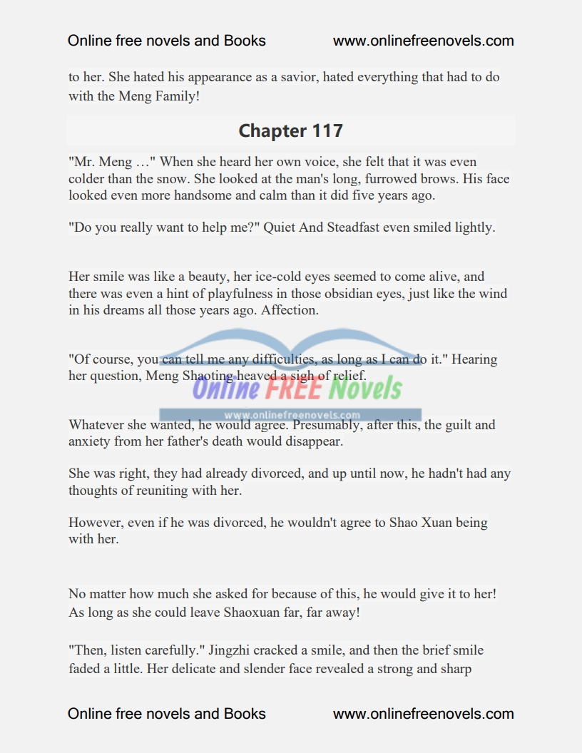 Ex-Husband, Be Self-Dignified Chapter 116 To 120 PDF
