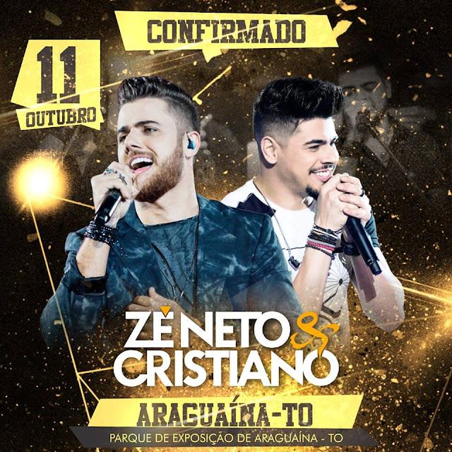 show ze neto e cristiano em araguaina tocantins