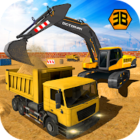 Heavy Excavator Crane – City Construction Sim Mod Apk