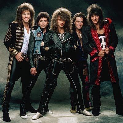 Foto de Bon Jovi a colores