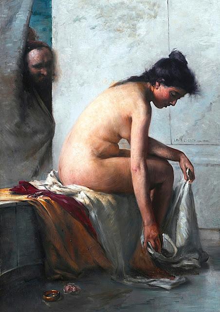 Lovis Corinth - Susanna al bagno - erotismo - arte