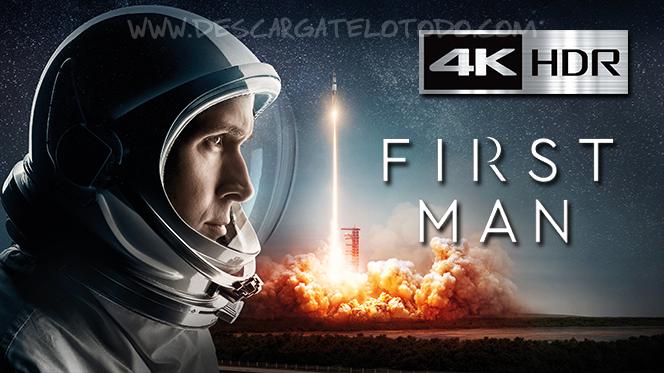 El Primer Hombre en la Luna (2018) IMAX REMUX 4K UHD [HDR] Latino-Ingles