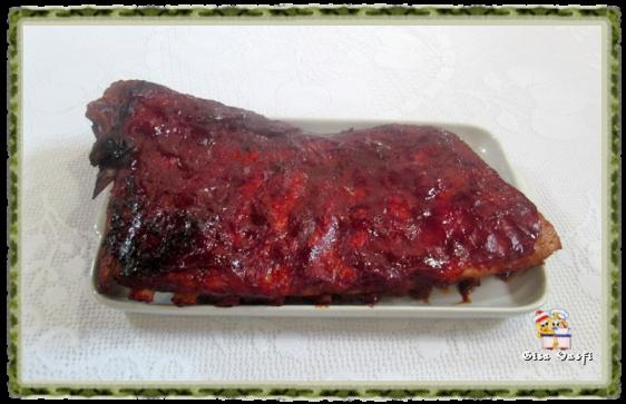 Costela de porco com molho barbecue 1