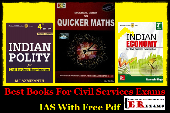 Best Books For Civil Services Exams IAS With Free Pdf