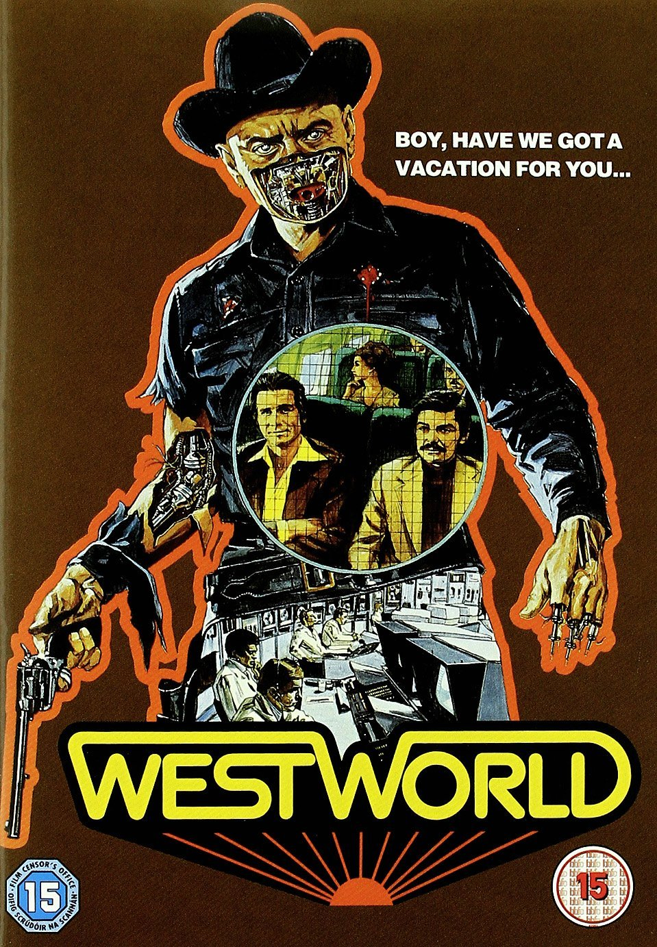 Classic film Westworld - DVD cover